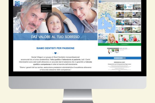 Website Dental-Village