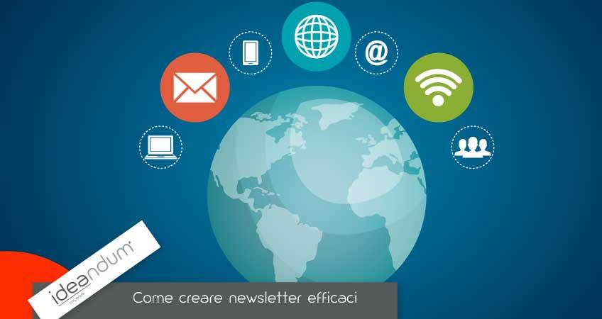 Creare newsletter efficaci