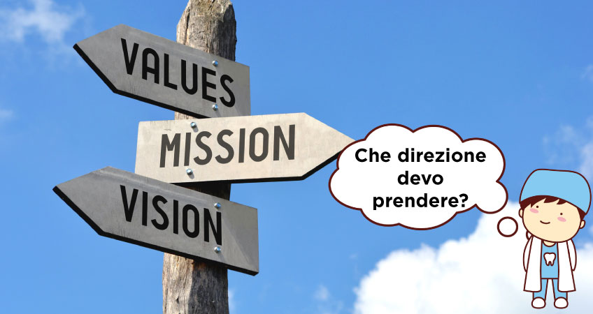 Aprire uno studio dentistico mission e valori