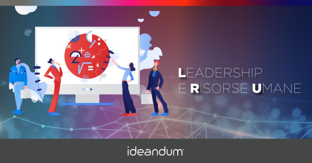 Illustrazione di leadership e risorse umane