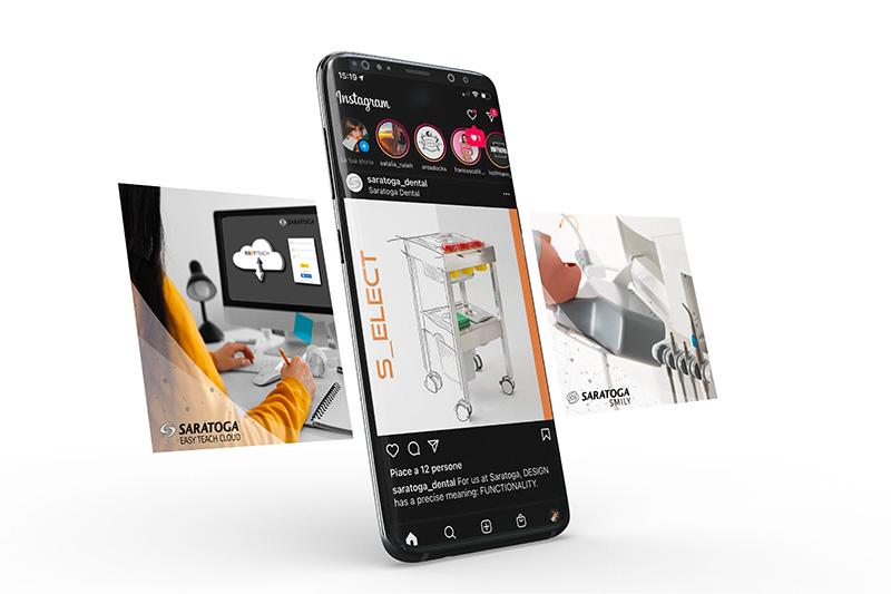 Saratoga social smartphone