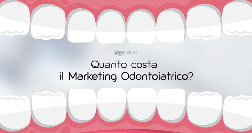 Bocca a apparato dentale - marketing odontoiatrico