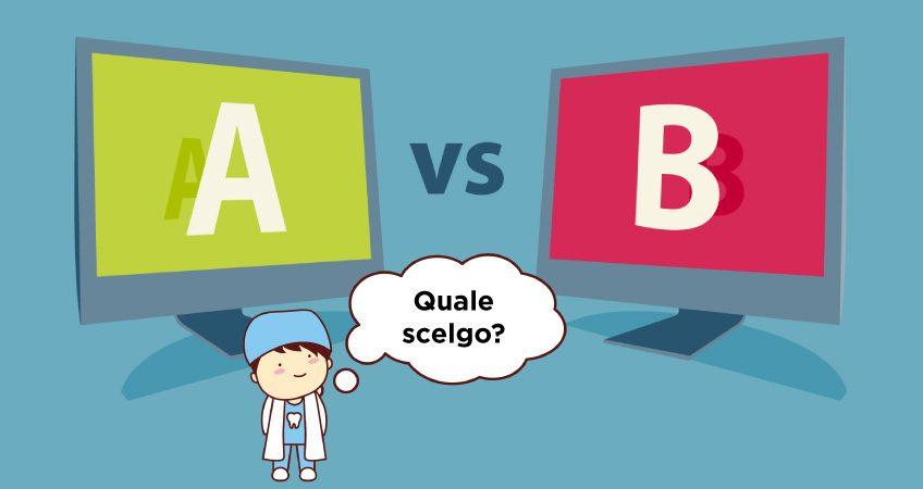 pubblicità del tuo studio dentistico a-b testing
